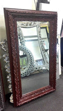 Load image into Gallery viewer, Tay Kathiyun French Provincial Ornate Mirror Maroon Imported