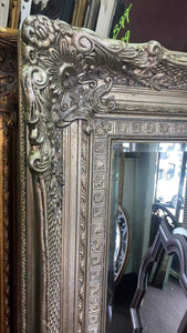 Tay Ucho French Provincial Ornate Mirror Silver Imported