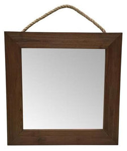 Elvie Square Wall Mirror Ow- Td0625 Local