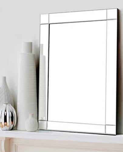 Jax Modern Frameless Decorative Mirror Local