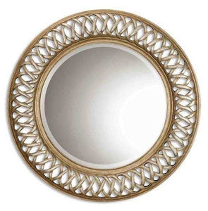 Uttermost Entwined Round Wall Mirror - 14028B Local