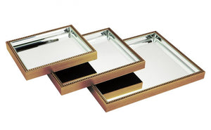 ZION GOLD MIRROR TRAY