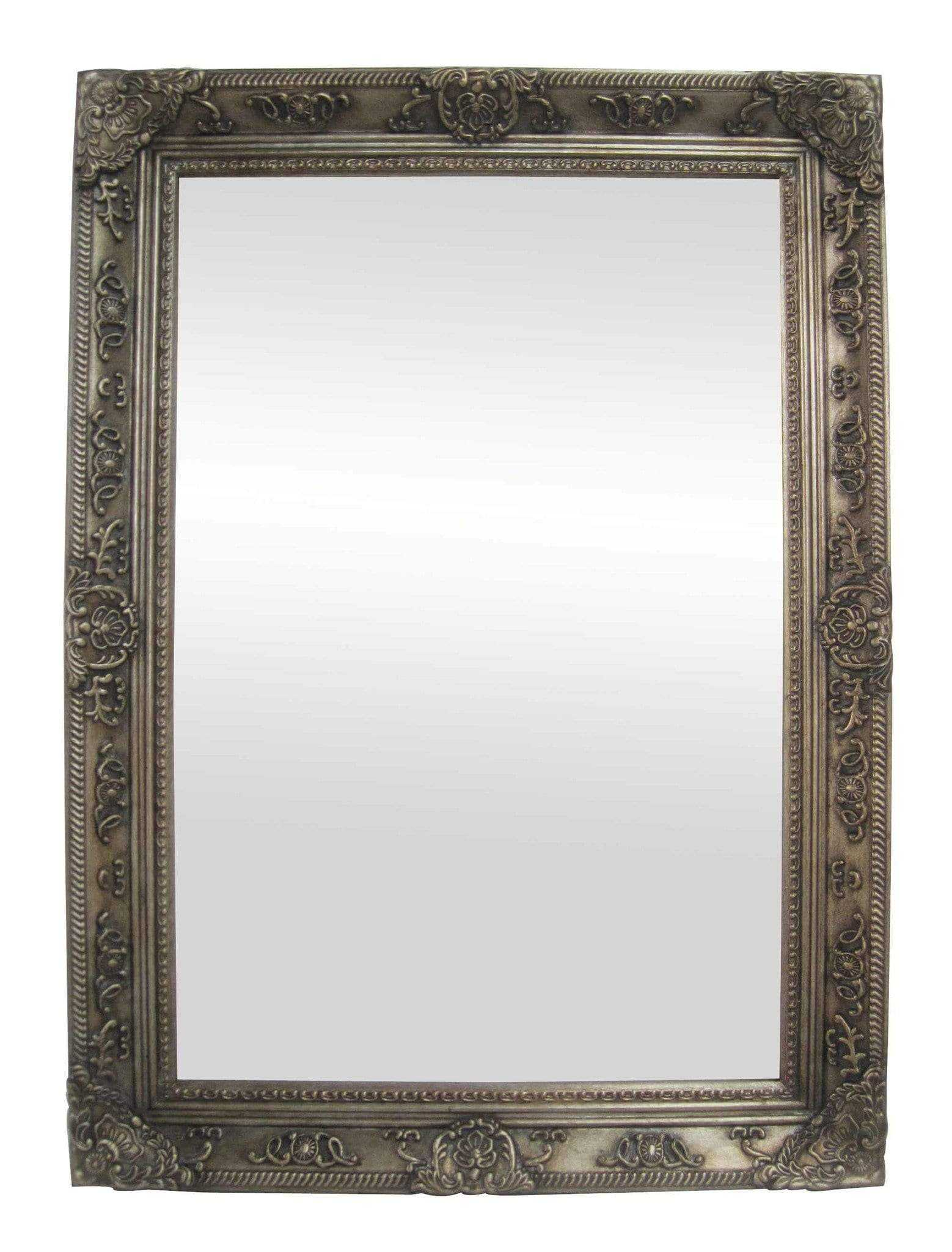 Bathroom mirrors sydney - Cornelia French Provincial Ornate Mirror 80 X 110 Cm