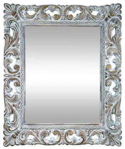 Chester Rectangle Art Deco Mirror (106 X 130 Cm) Imported