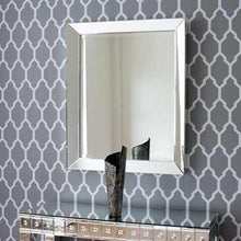 Load image into Gallery viewer, Maddox Modern Non-Beaded Silver Mirror Local