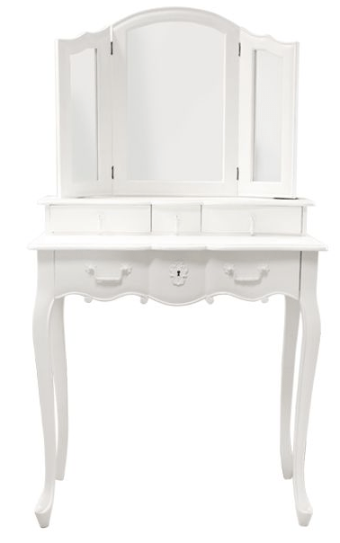 Sweet Pea Mirrored Dressing Table Ds- 48009 Local