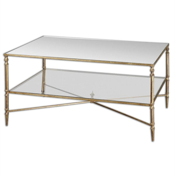 Henzler Mirrored Coffee Table Mirror City