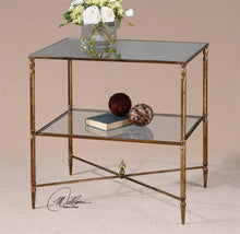 Load image into Gallery viewer, Uttermost Henzler Mirrored Side Table- 26120 Local