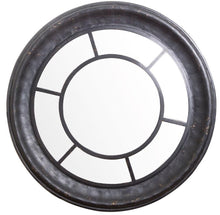 Load image into Gallery viewer, Round Black Wall Mirror El - D176 Local
