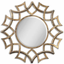 Load image into Gallery viewer, Uttermost Demarco Round Wall Mirror Um - 12730B Local