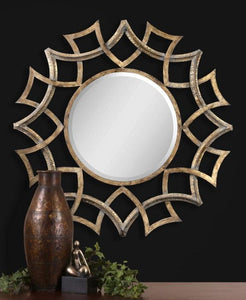 Uttermost Demarco Round Wall Mirror Um - 12730B Local