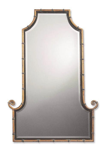 Uttermost Himalaya Arched Iron Wall Mirror Um - 10770B Local