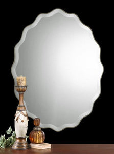 Uttermost Teodora Oval Wall Mirror Um - 12704 B Local
