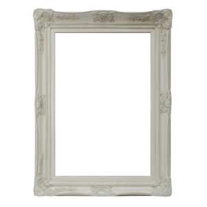 WICHOO FRENCH PROVINCIAL ORNATE MIRROR CREAM WHITE - mirrors-city-aus