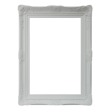 Load image into Gallery viewer, Wichoo French Provincial Ornate Mirror White Imported