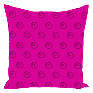 Color Collection Raspberry Swirl Throw Pillows
