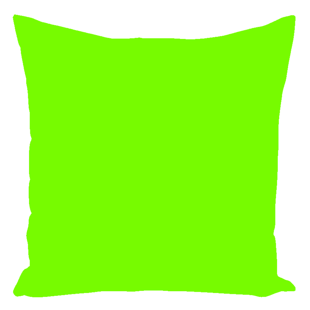 Warwick Collection Lime Throw Pillows