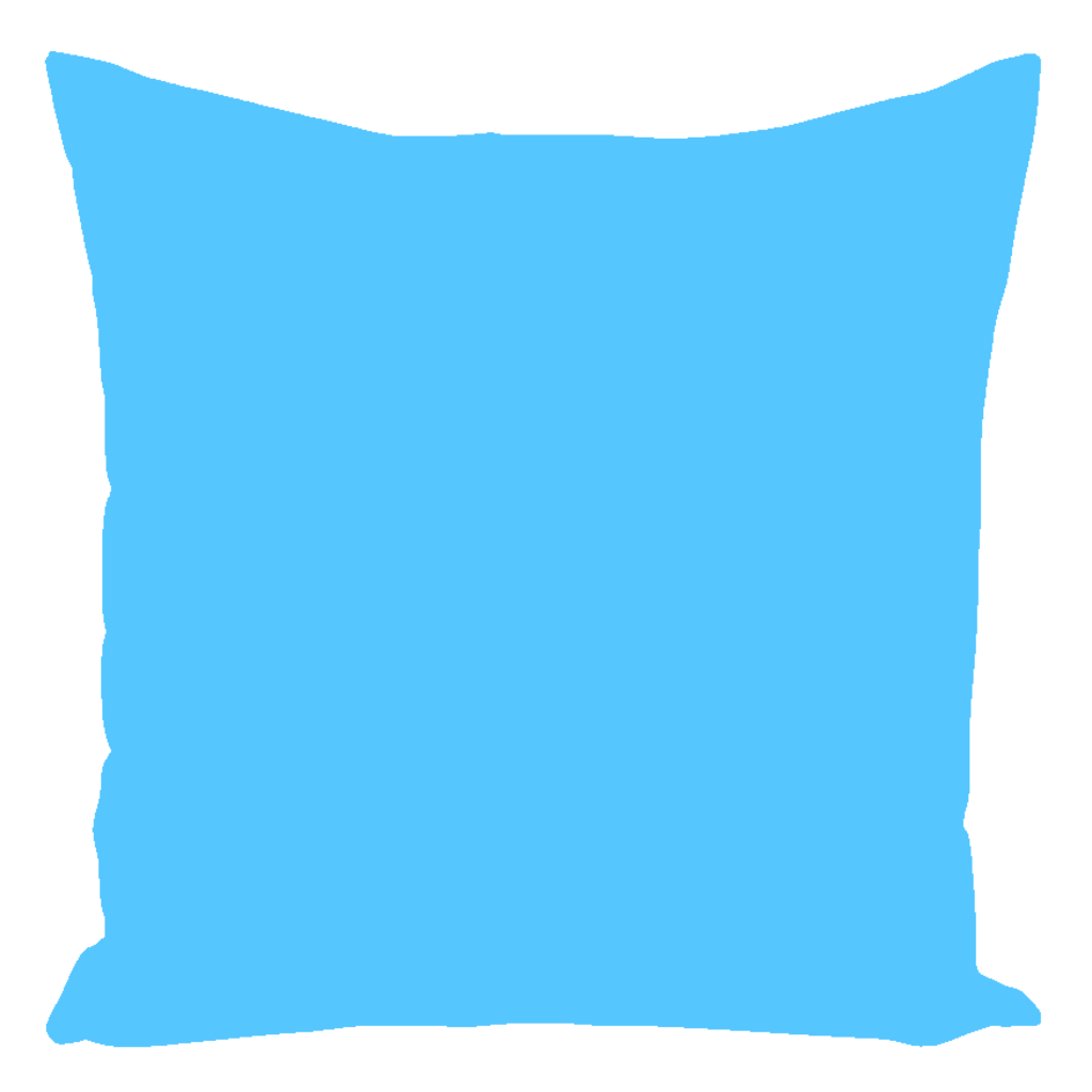 Warwick Collection Cyan Throw Pillows