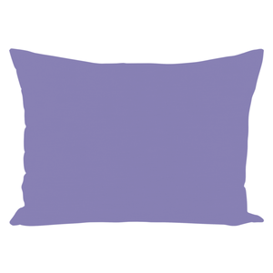 Moonlight Collection Periwinkel Solid Throw Pillows