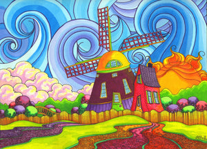 """Kinderdijk"" Fine Art Prints"