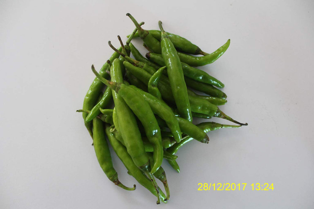 Refresh Bag test result of Chilies on 6th Day