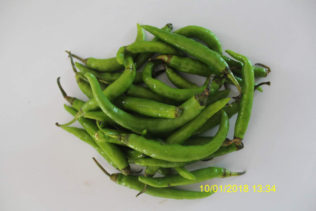 Refresh Bag test result of Chilies on 15th Day