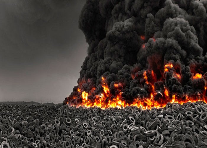 We Can Stop Burning tyres