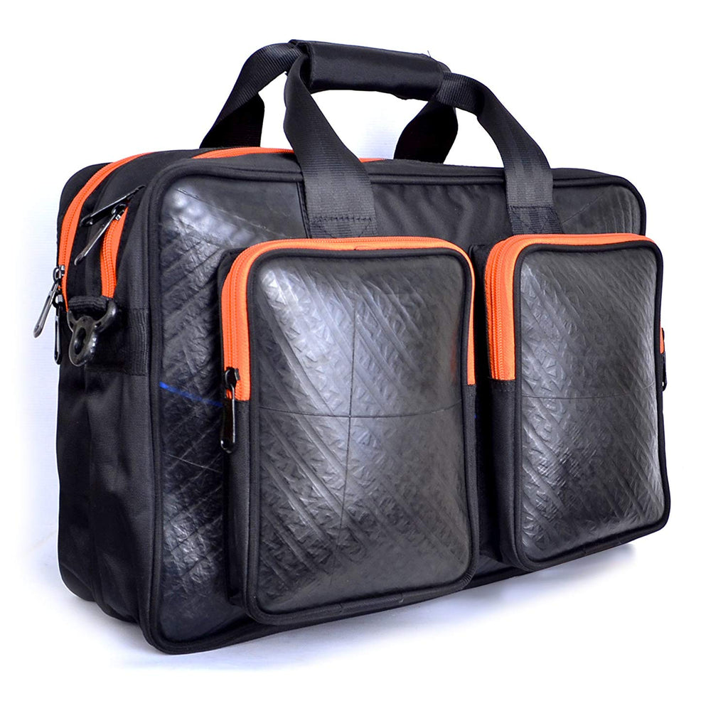 MULTI POUCH LAPTOP BAG
