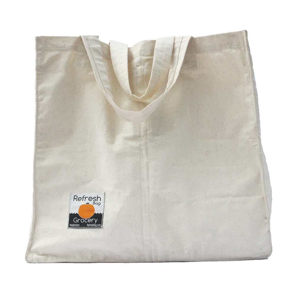 Set of 3 - Eco Friendly Reusable Multi Pouch Grocery Bag