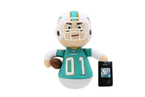 NFL Rock'emz Collectible Sports Figurine - 7 in. tall (Miami Dolphins)