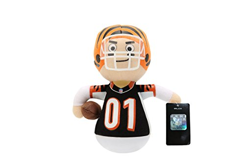 NFL Rock'emz Collectible Sports Figurine - 7 in. tall (Cincinnati Bengals)