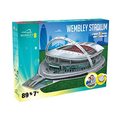 Officially Licensed Wembley Stadium 3D Replica Puzzle-89 Pieces