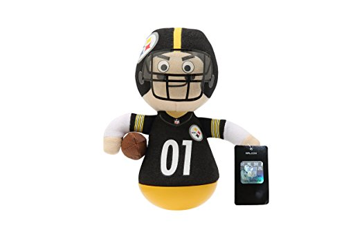 NFL Rock'emz Collectible Sports Figurine - 7 in. tall (Pittsburgh Steelers)