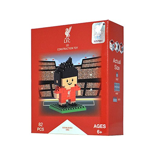 BRXLZ Liverpool FC Mini Player 87 Piece 3D Construction Toy