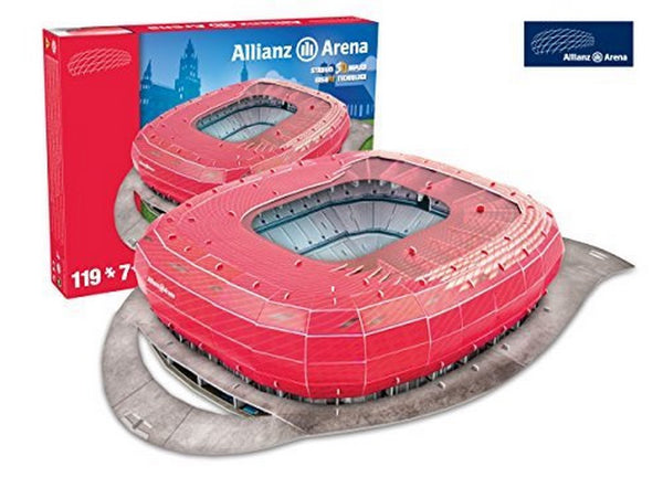 Bayern Munich 'Allianz Arena' Stadium 3D Puzzle - One Size [Toy]