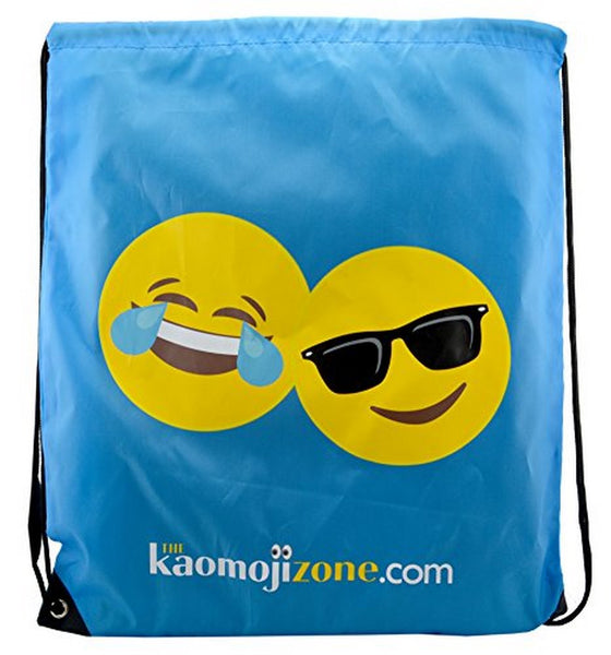 Kaomojibag Drawstring Bag