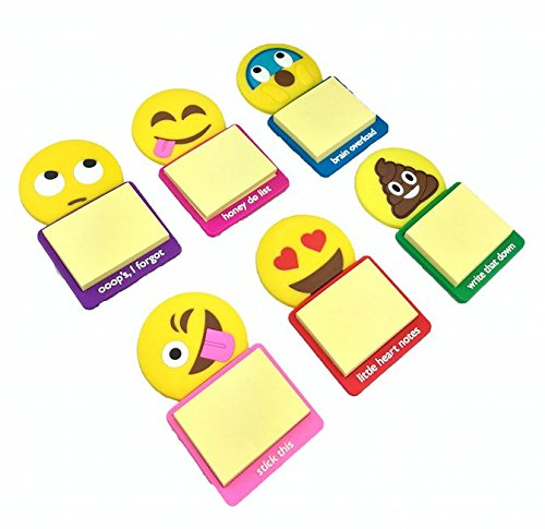 Kaomoji Magnetic Sticky Notes (3 Pack)