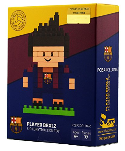 BRXLZ FC Barcelona Mini Player 87 Piece 3D Construction Toy
