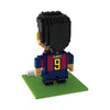 BRXLZ FC Barcelona Player - Luis Suárez #9 - 3D Construction Toy