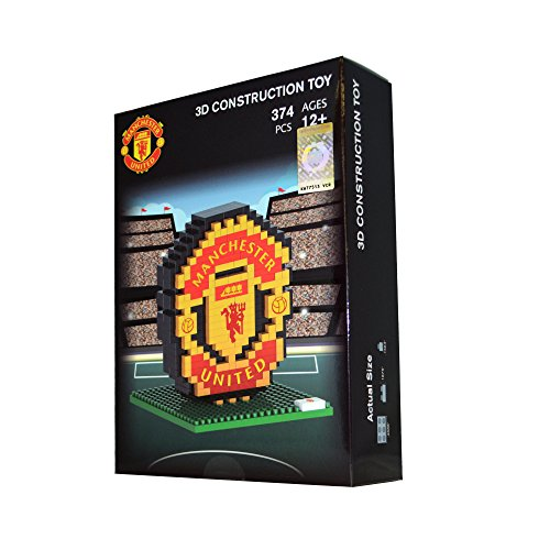 BRXLZ Manchester United FC Team Logo 3D Construction Toy
