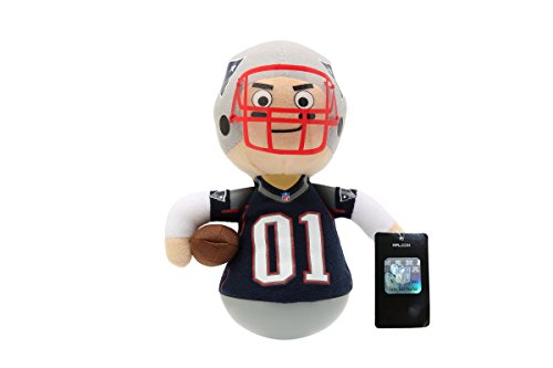 NFL Rock'emz Collectible Sports Figurine - 7 in. tall (New England Patriots)