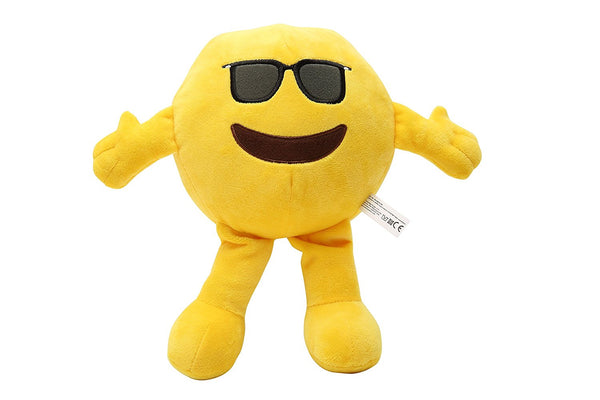 Kaomoji Collectible Plush Sunglasses Toy