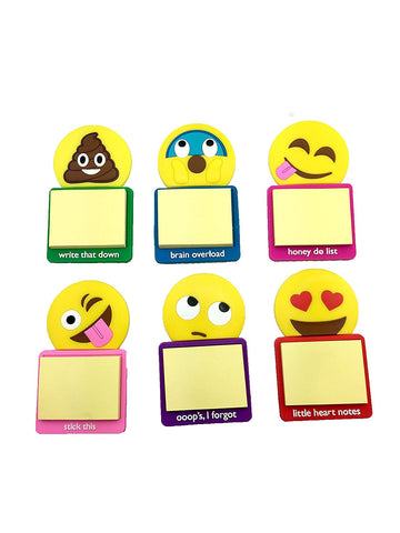 Kaomoji Magnetic Sticky Notes (6 Pack)