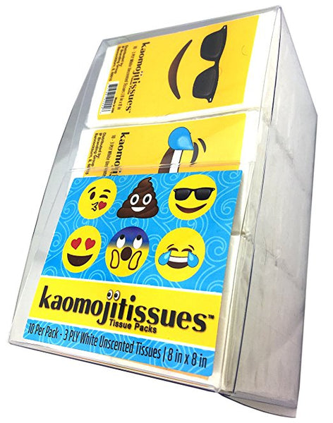 Kaomojitissues Assorted Faces - 15 Pack