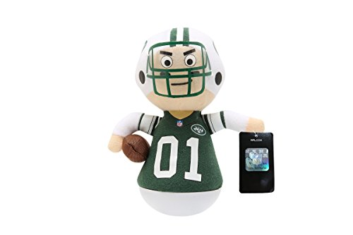 NFL Rock'emz Collectible Sports Figurine - 7 in. tall (New York Jets)