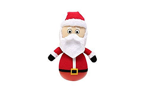 Holiday Rock'emz Collectible Figurine - 7 in. tall - Santa Claus