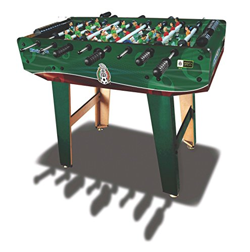 Minigols Mexico Foosball Table with 11 Mexico Figures and 11 Generic Figures - 1