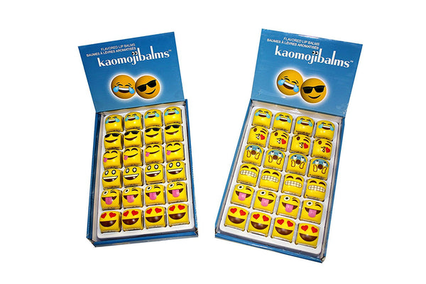 Kaomojibalms 24 pc. Assorted Flavored Lip Balm