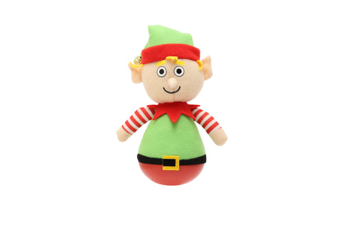Holiday Rock'emz Elf Collectible Figurine