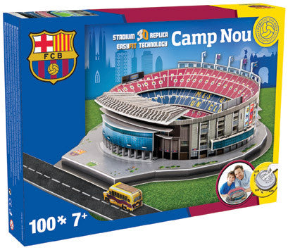 Barcelona 'Camp Nou' Stadium 3D Puzzle